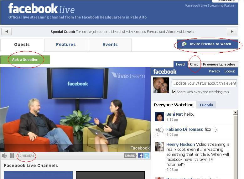 facebook introduces live streaming channel facebook live